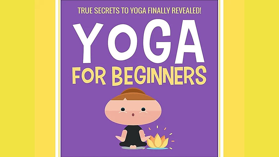 Yoga For Beginners PLR Pack