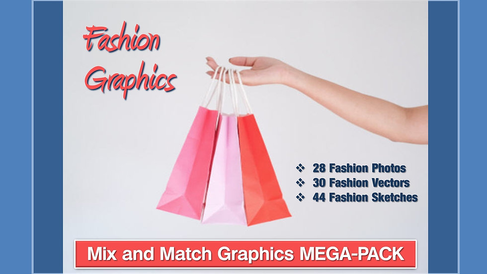 Fashion Mix and Match GRAPHICS Collection