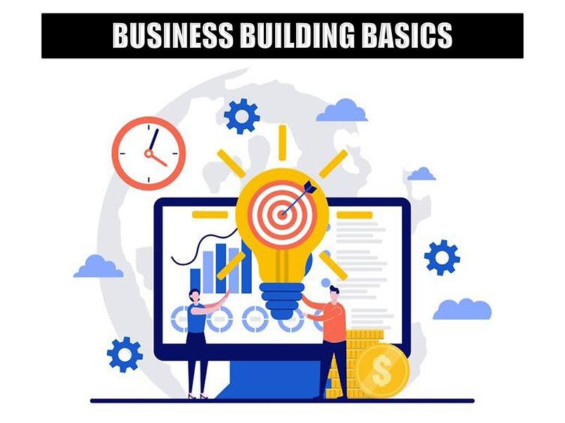 Free Business Building Basics Courses