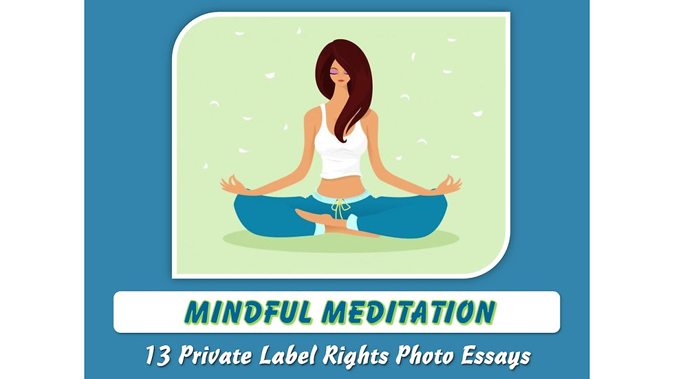 Mindful Meditation Private Label Content Pack