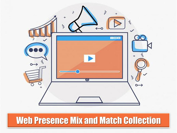 Web Presence MIX and MATCH GRAPHICS Collection