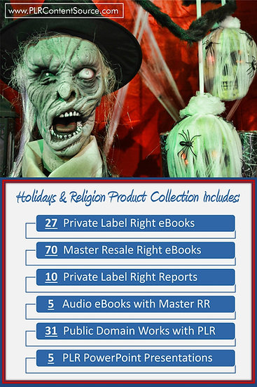 Holidays and Religion Product Profit Packs