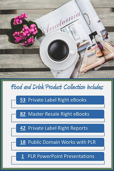 Food and Drink Product Profit Pack