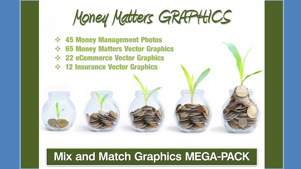 Money Matters Mix and Match GRAPHICS Collection