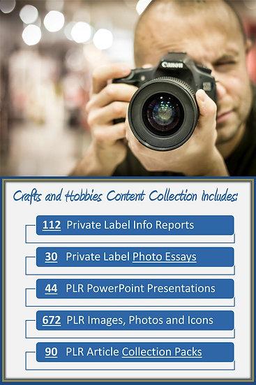Crafts and Hobbies Content Portfolios