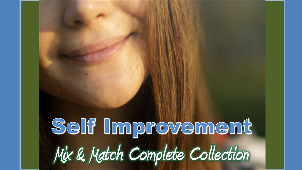 Self Improvement Mix and Match COMPLETE Collection