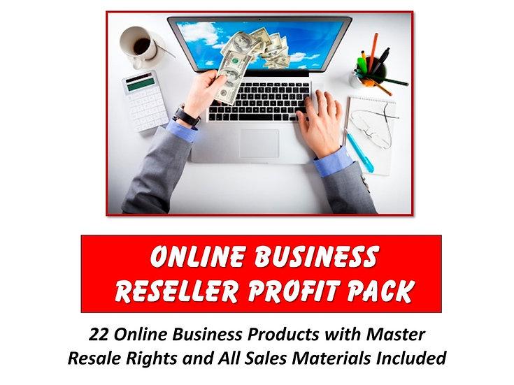 Online Business Reseller Profit Pack