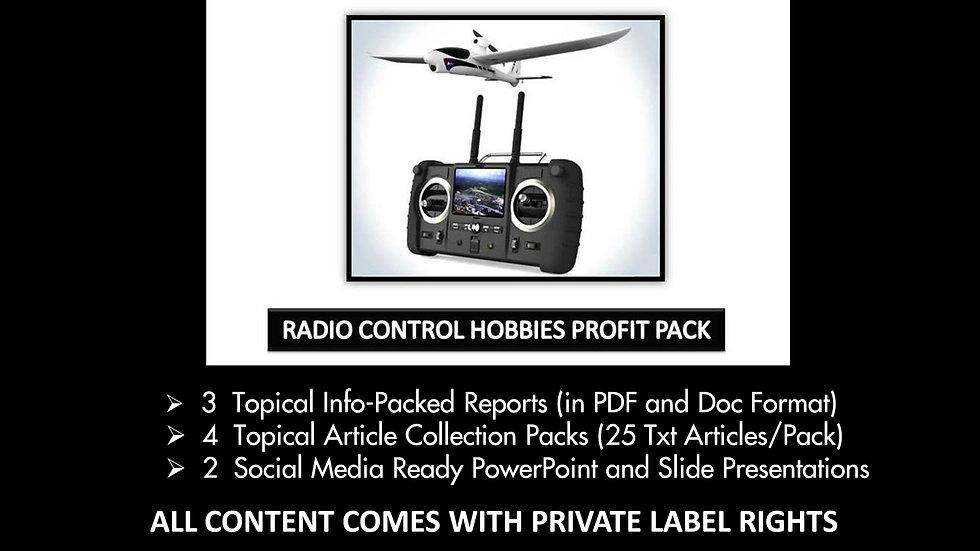 Radio Control Hobbies Private Label Profit Pack