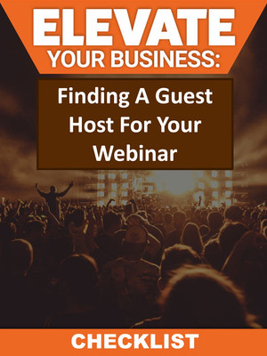 Finding A Guest Host For Your Webinar Checklist