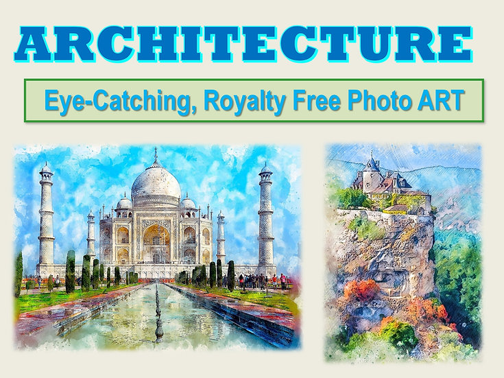 ARCHITECTURE Photo Art Collection