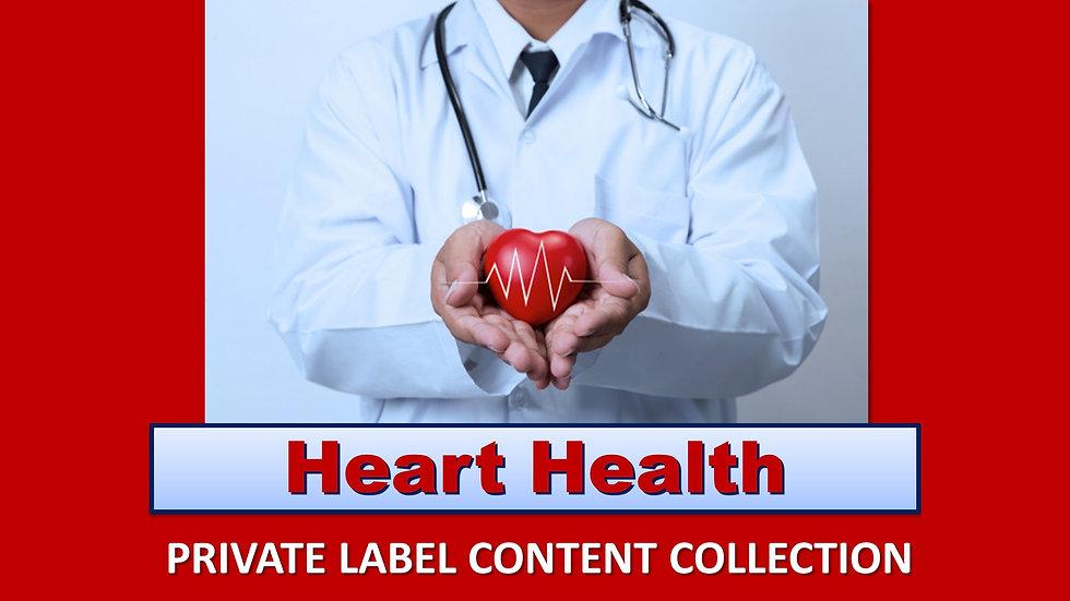 Heart Health PLR Product Pack