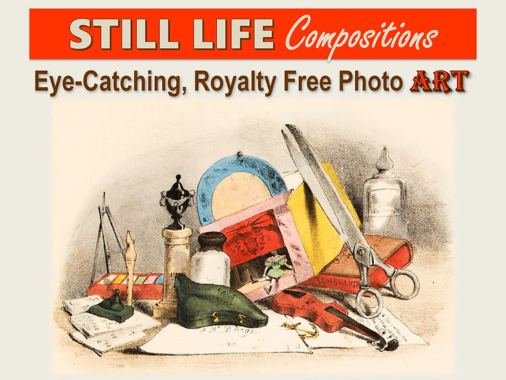 STILL LIFE Compositions Photo Art Collection