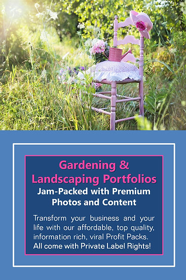 Gardening and Landscaping Niche Domination Pack