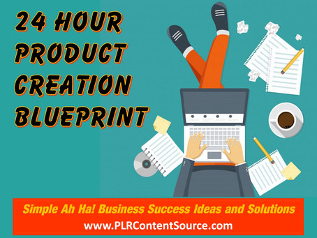 The 24-Hour Product Creation Blueprint: Deciding On A Topic