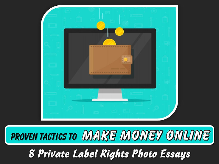 Proven Tactics To Make Money Online Private Label Content Pack