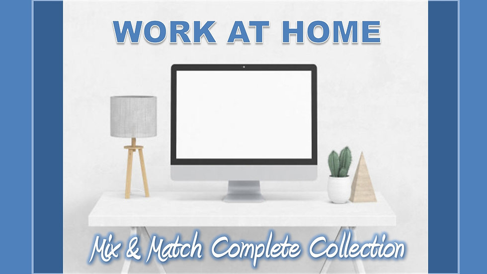 Work at Home Mix and Match COMPLETE Collection
