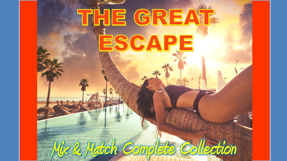 Travel and Vacation Mix and Match COMPLETE Collection