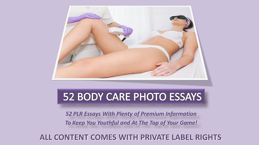 52 Body Care Photo Essays