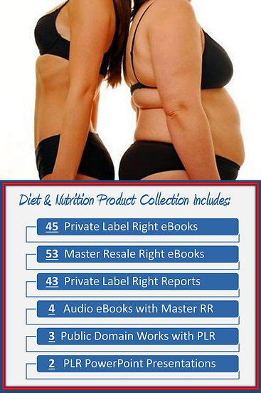Diet and Nutrition Product Profit Packs