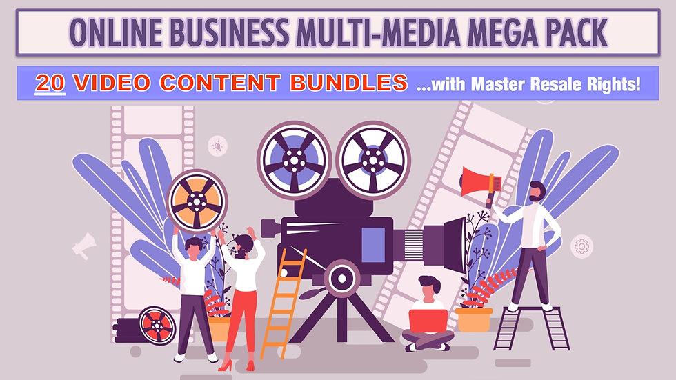 Online Business Multi-Media MEGA Pack