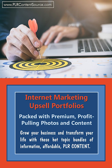 Internet Marketing Upsell Content Collection