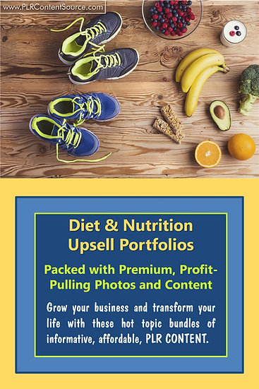 Diet and Nutrition Upsell Content Collection