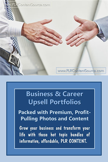 Business and Career Upsell Content Collection