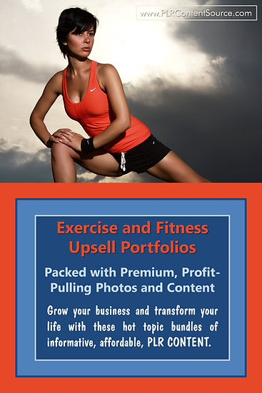 Exercise and Fitness Upsell Content Collection