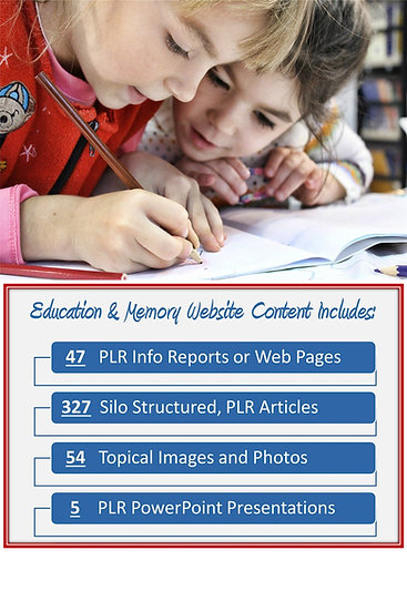 Education and Memory Turnkey Content Sites
