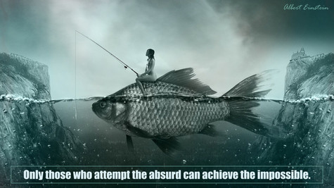 Only Those Who Attempt The Absurd