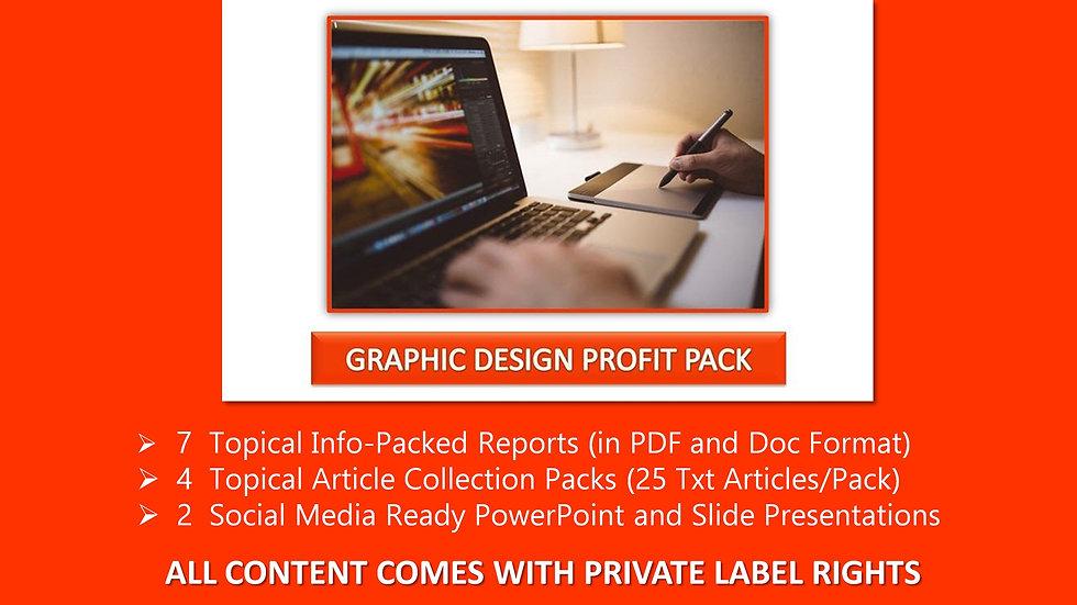 Graphic Design Private Label Profit Pack