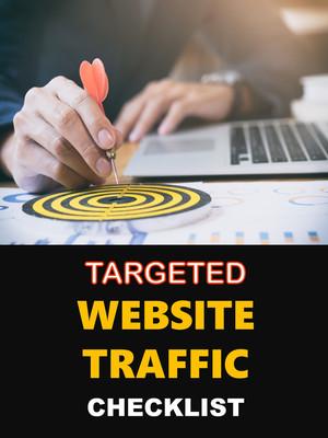 Targeted Website Traffic Checklist
