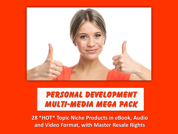 Personal Development Multimedia MEGA Pack