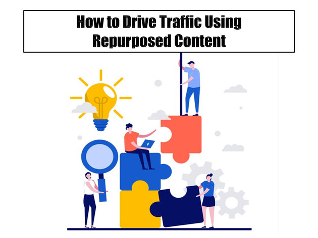 How to Drive Traffic Using Repurposed Content