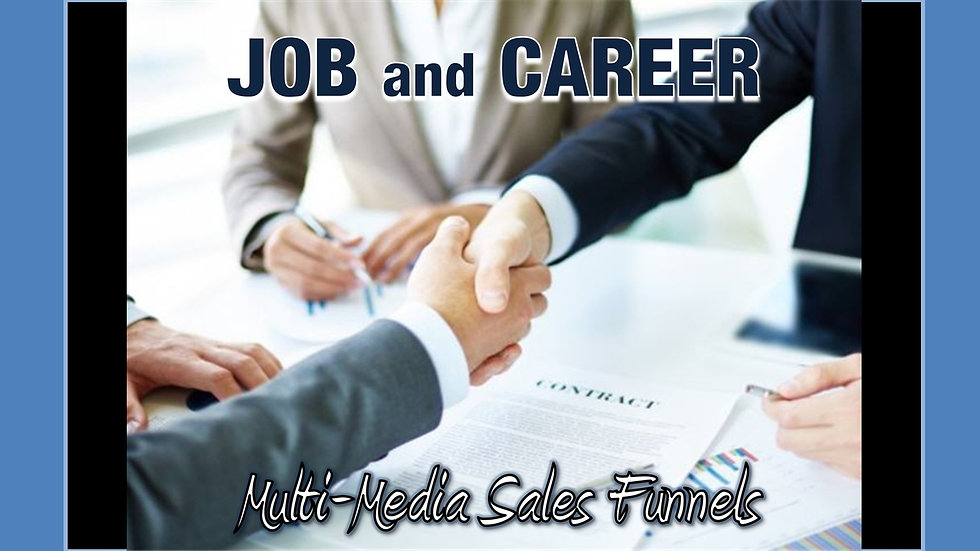 Job and Career Mix and Match Multimedia Sales Funnels