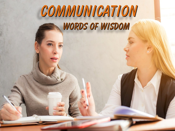 Communication Photo Quote Collection