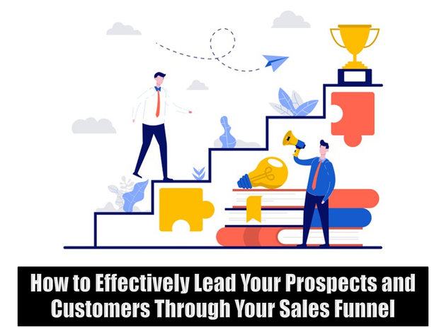 How to Effectively Lead Your Prospects and Customers Through Your Sales Funnel