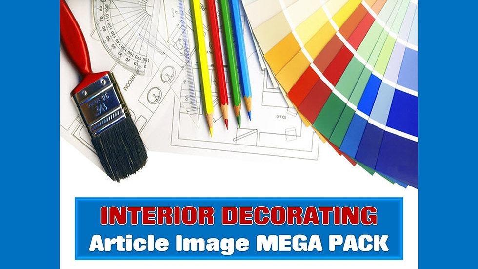 Interior Decorating PLR Article and Image MEGA Pack