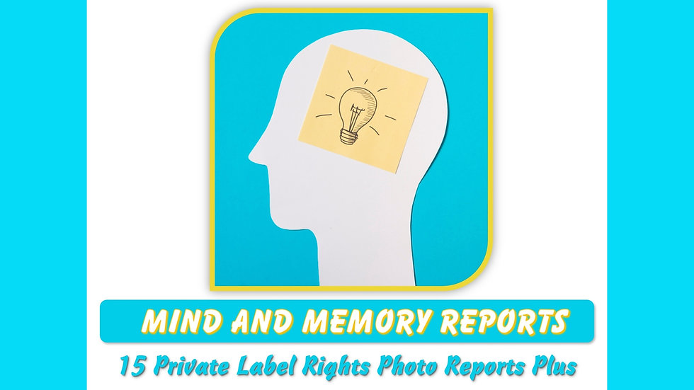 Mind and Memory Private Label MEGA Content Pack