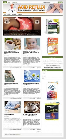 20 Ready Made Health Niche Blogs