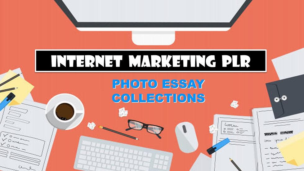 Internet Marketing PLR Photo Essay Collections