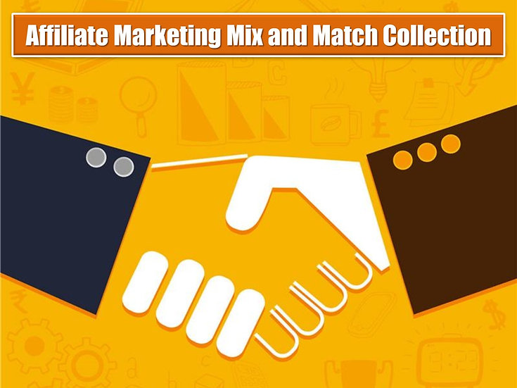 Affiliate Marketing MIX and MATCH CONTENT Collection