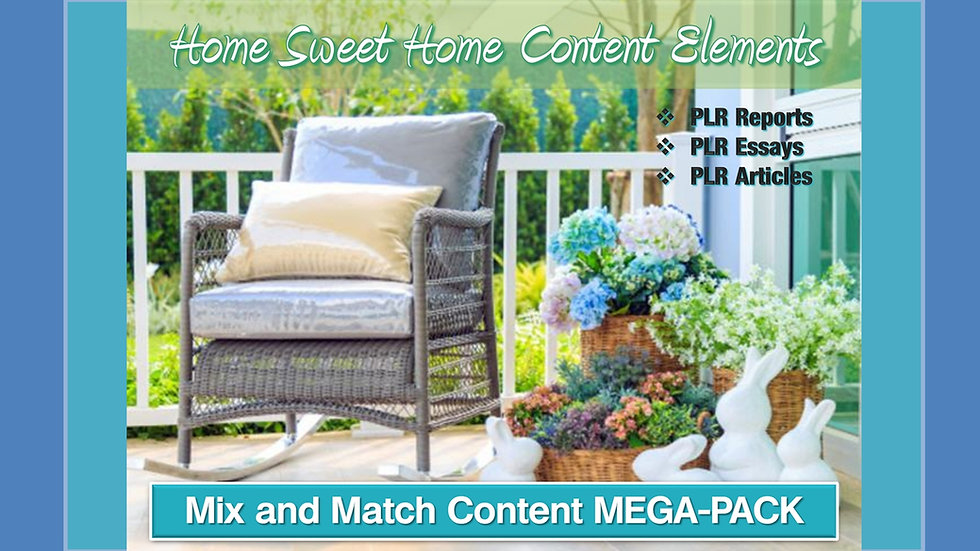 Home Sweet Home Mix and Match CONTENT Collection