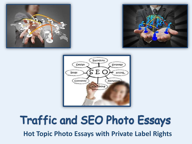 10 PLR Traffic and SEO Photo Essays