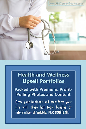 Health and Wellness Upsell Content Collection