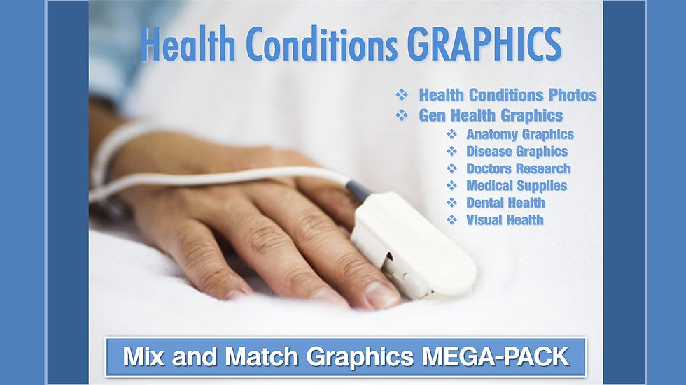 Health Conditions Mix and Match GRAPHICS Collection