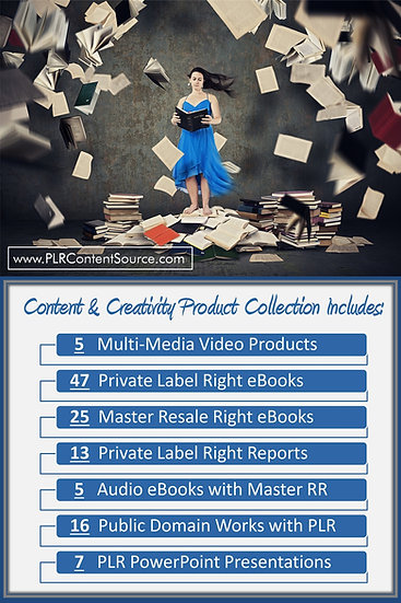 Content and Creativity Product Profit Pack