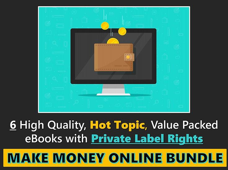 Make Money Online PLR eBook Bundle