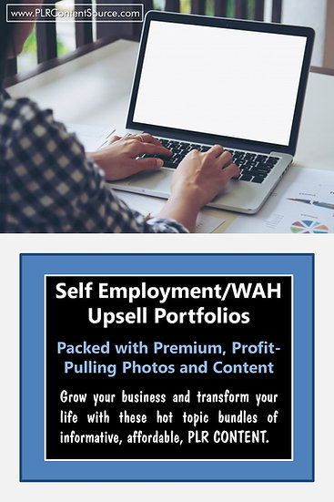 Self Employment and WAH Upsell Content Collection