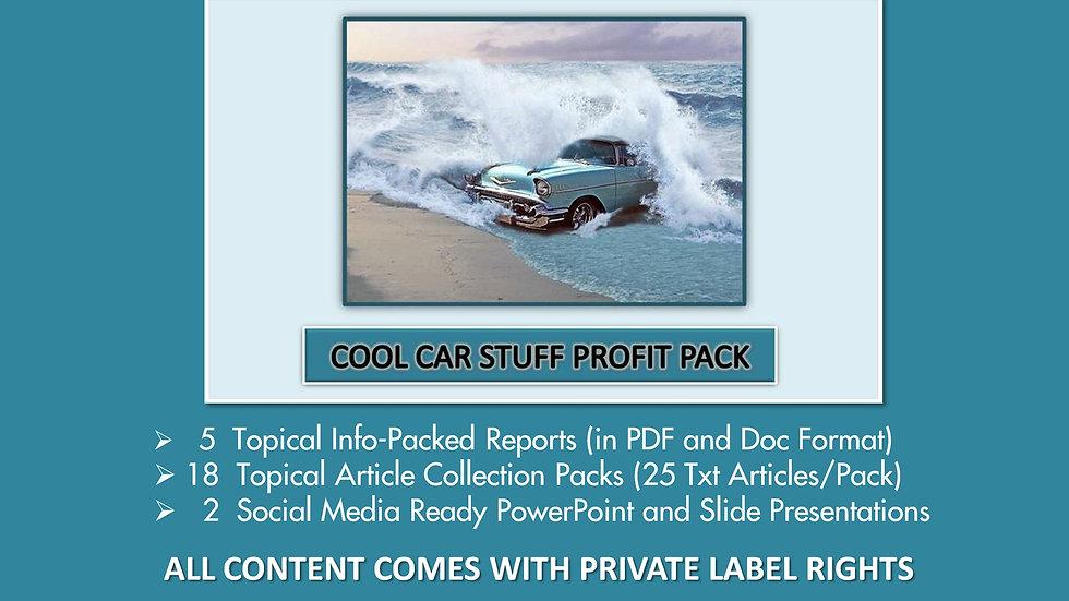 Cool Car Stuff Private Label Profit Pack